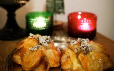 Brie-joulutortut Herkkusirkoilla